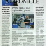 Bozeman Chronicle Front Page Story